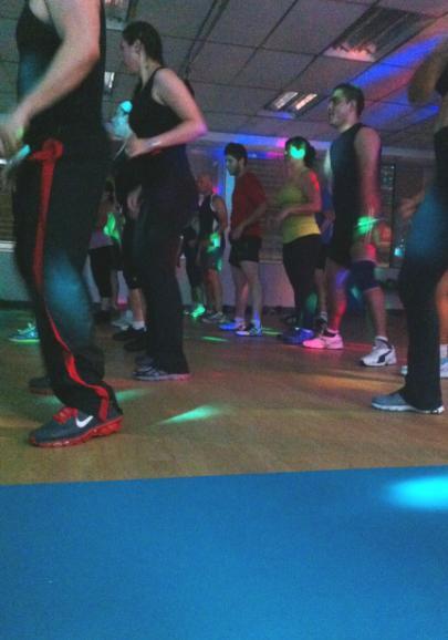 22 Piso para salas de aerobicos y danza
