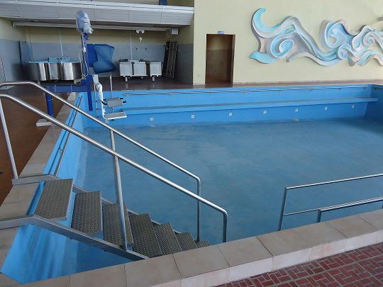 piso para salones de hidroterapia
