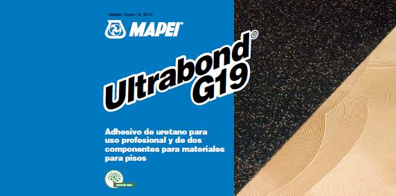 ultrabond g-19 adhesivos